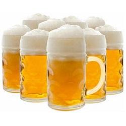 Pivo v poharoch, 250x250